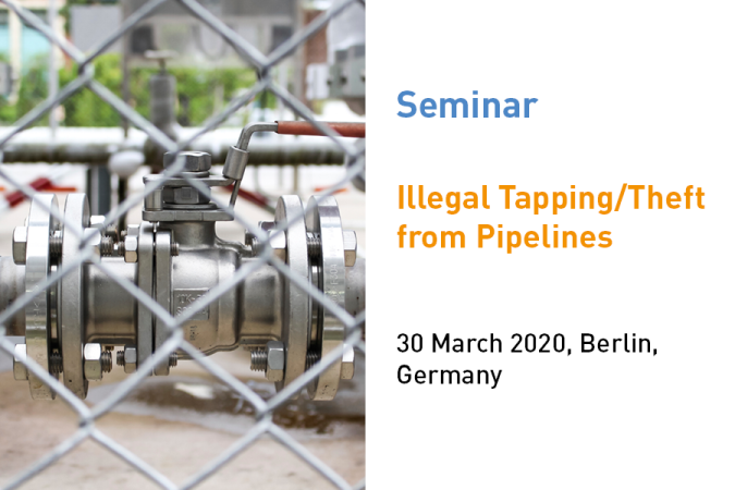 ptc 2020 - Illegal Tapping / Theft from Pipelines Seminar