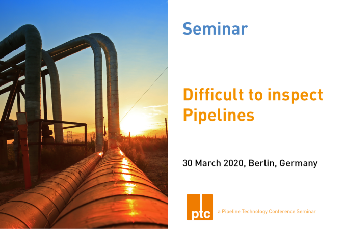 ptc 2020 - Difficult to Inspect Pipelines Seminar