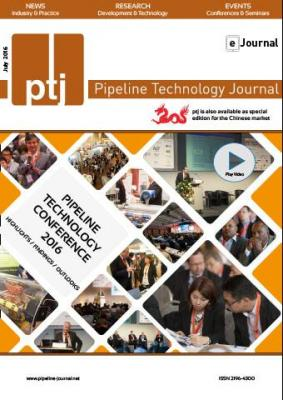 Pipeline Technology Journal 4 2016 Pipeline Technology Journal