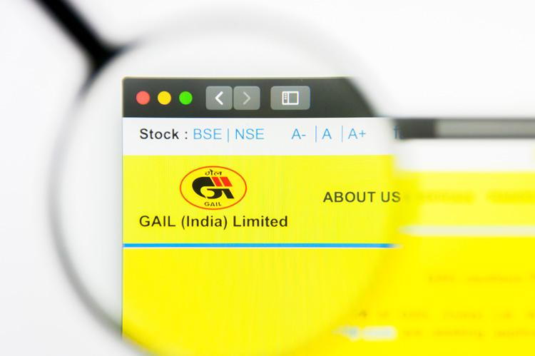 GAIL India website homepage (copyright by Shutterstock/Pavel Kapysh)