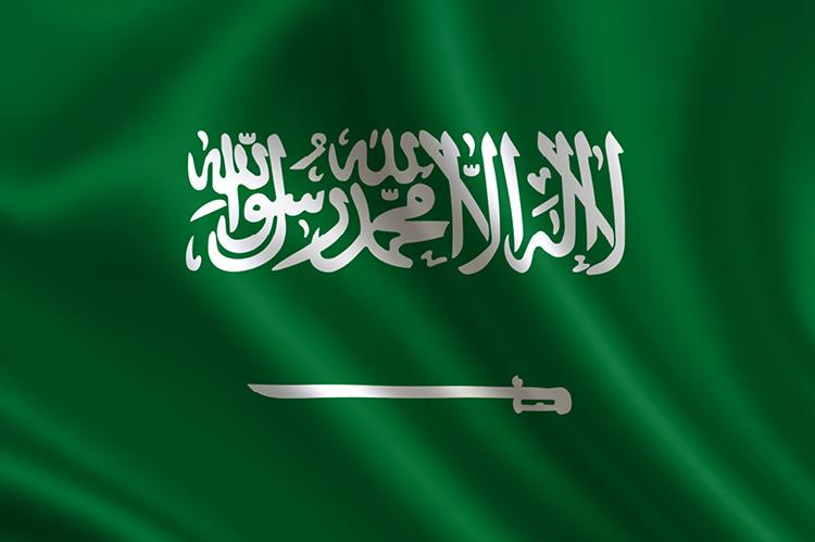 Flag of Saudi Arabia (copyright by Shutterstock/adidas4747)