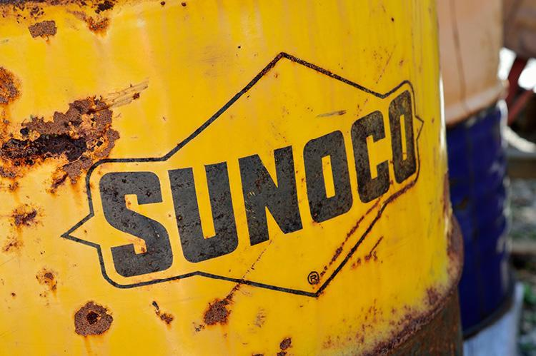 Rusted Sunoco barrel (copyright by Shutterstock/arcticphotoworks)