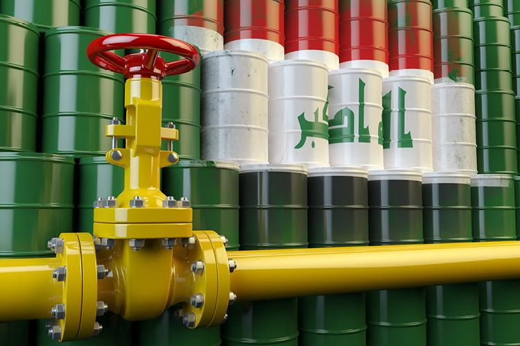 Iraq barrels and pipeline (copyright by Maxx-Studio/Shutterstock)