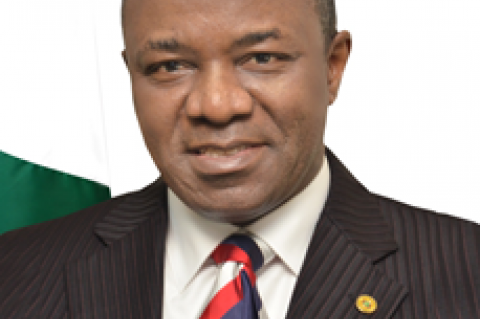 Dr. Ibe Kachikwu Honourable Minister of State, Ministry of Petroleum Resources (© 2016 Federal Ministry of Petroleum Resources)