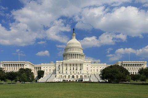 US Capitol east front, by Martin Falbisoner - Own work, CC BY-SA 3.0