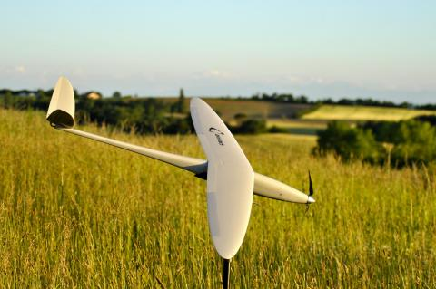 GRTgaz and AIR MARINE (AMAE Group subs) initiate France's first ever drone based gas pipeline surveillance program (©2015 AIR MARINE)