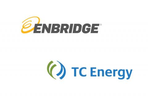 Enbridge & TC Energy logos (copyright by Enbridge & TC Energy)