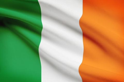Flag of Ireland (copyright by Shutterstock/Niyazz)