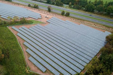 Lambertville Solar Project (copyright by Merit SI)