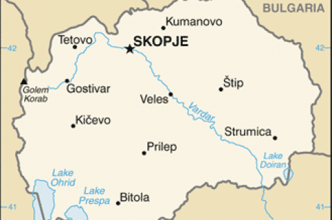 Republic of Macedonia (© 2015,the United States Central Intelligence Agency's World Factbook)