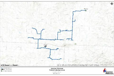 American Midstream Launches Open Season for Bakken Crude Oil Gathering System in McKenzie County, North Dakota (© 2015 American Midstream))