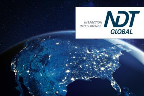 USA from space with NDT logo (copyright by Shutterstock/NicoElNino & NDT Global)