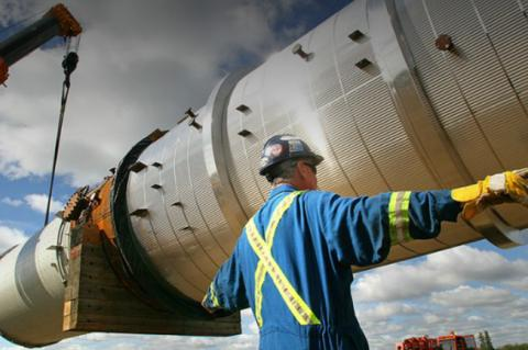 Northern Gateway's pipeline route will run approximately 1,177 km (copyright Northern Gateway)