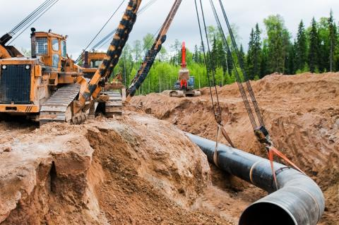Pipeline construction (copyright by AdobeStock/Sergii Ryzhkov )