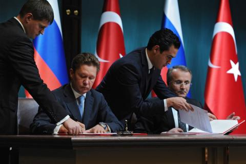 Signing of MOU between Gazprom and Botas in Dec. 2014 (© 2014 Gazprom)