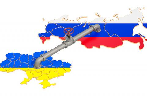 Russia-Ukraine gas pipeline (copyright by Shutterstock/AlexLMX)