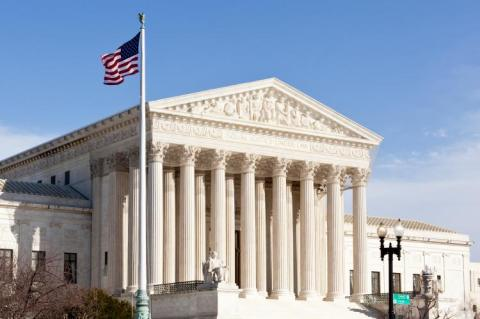 Supreme Court Washington DC USA (copyright by Adobe Stock/steheap)