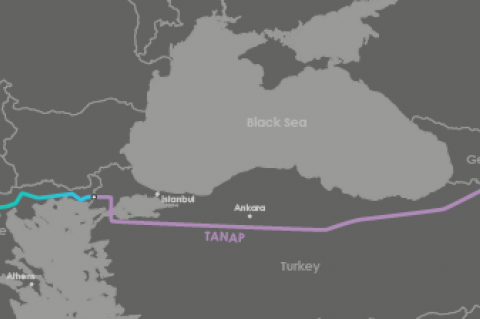Southern Gas Corridor - TAP and TANAP (© 2014 TAP AG)