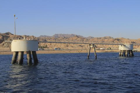 The beginning of the oil pipeline Eilat-Ashkelon (copyright by Shutterstock/Vrangels)
