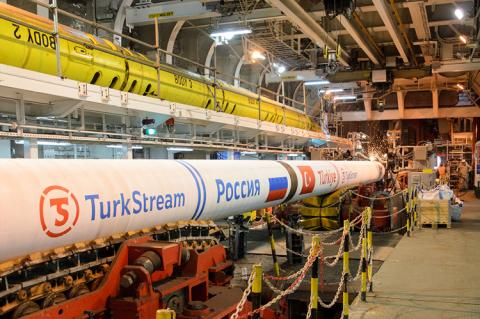 TurkStream pipeline (copyright by TurkStream)