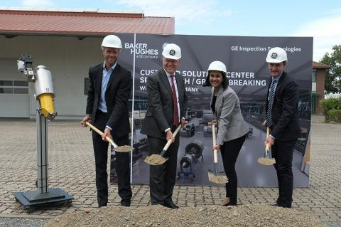 BHGE Breaks Ground on European Customer Solutions Center for Inspection Technologies Business (BHGE)