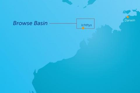 The Browse Basin, south-west of Darwin, Western Australia(© 2015 Subsea 7)