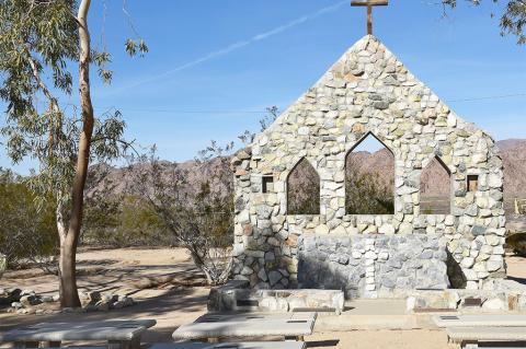 A simple outdoor chapel like this one in California can cause problems for pipeline operators (LunaseeStudios / Shutterstock)