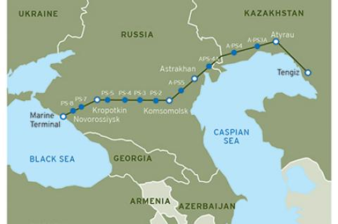 Expansion Boosts Caspian Pipeline Export Capacity (© 2015 Chevron Corporation )