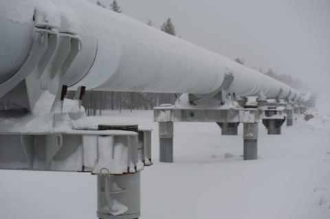 A pipeline operated by Transneft (Copyright: Transneft)