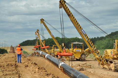 New European Gas Pipeline Link (EUGAL) to receive it's first pipes ( © 2017 GASCADE Gastransport GmbH)