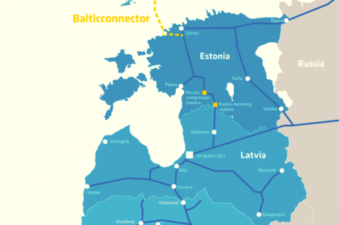 Balticonnector Project Scope (Copyright: Baltic Connector Oy)