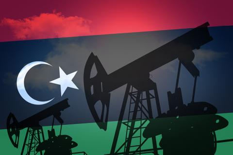 Oil production in Libya (copyright by Shutterstock/Max Sky)