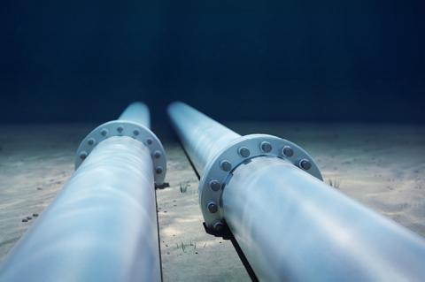 Underwater Pipeline on the sea floor (copyright by Shutterstock/Vismar UK)
