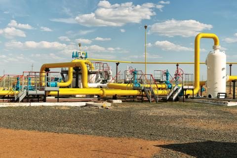 Process unit for gas processing, the overall plan (copyright: ekipaj / shutterstock)