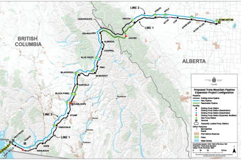 Pipeliners Getting Ready for Trans Mountain Pipeline Construction