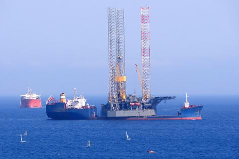 More and more oil & gas exploration is conducted in the Mediterranean Sea (Andriy Markov / Shutterstock)