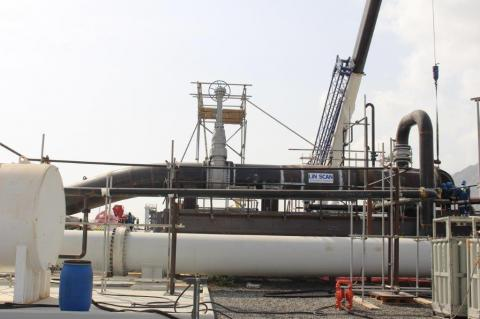 LIN SCAN successfully cleans unpiggable UAE loading lines