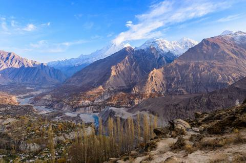 The Balouch Region in Pakistan (Saknarong Tayaset / Shutterstock)