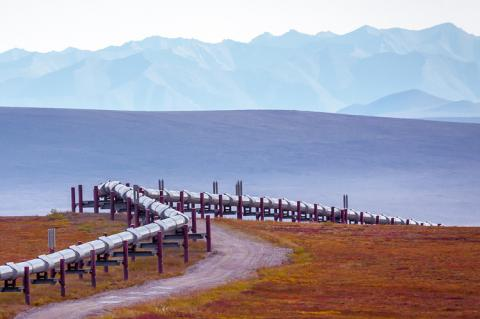Pipeline in the mountains (copyright by Shutterstock/BILD LLC)