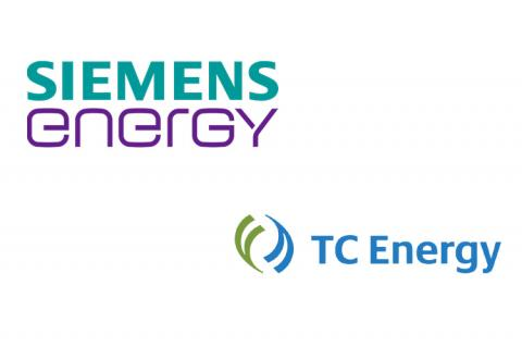 Logos of Siemens Energy & TC Energy (copyright by Siemenes Energy & TC Energy)