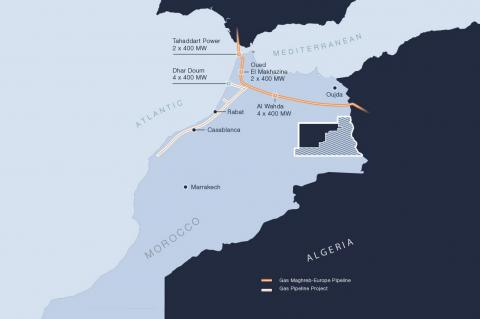 Sound Energy receives Morocco gas-line funding proposal (Copyright by Sound Energy)