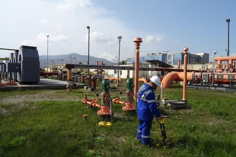 Pipeline Transport Institute Completes Field Stage of Inspection of Hydrocarbon Storage Farm's Earthing System in Algeria