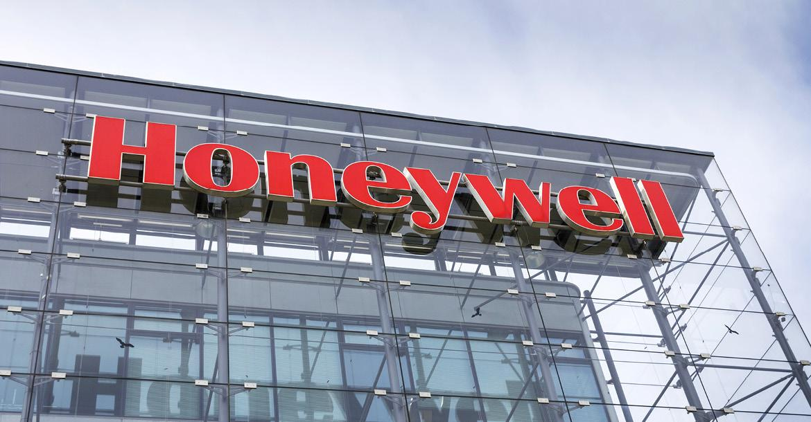 Honeywell HQ in Prague (copyright by Shutterstock/josefkubes)
