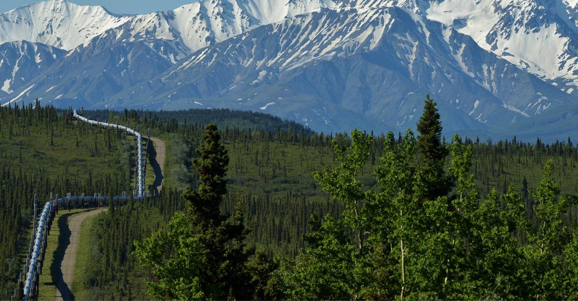 Pipeline crosses miles of beautiful, rugged terrain (copyright by Adobe Stock/JT Fisherman)
