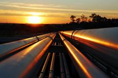 African pipelines in the sunrise (copyright by Shutterstock/Kodda)