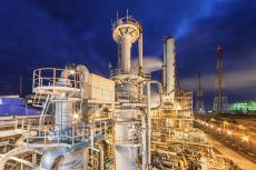 Chemical plant for the production of ammonia (copyright by Shutterstock/saoirse2013)