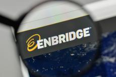 Enbridge energy logo on the website homepage (copyright by Shutterstock/Casimiro PT)