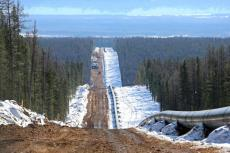 Power of Siberia gas pipeline route (copyright by Gazprom)