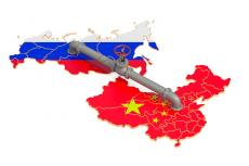 Russia-China pipeline (copyright by Adobe Stock/alexmlx)