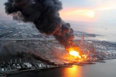 Real-time remote monitoring and risk management of oil & gas facilities subjected to natural hazards